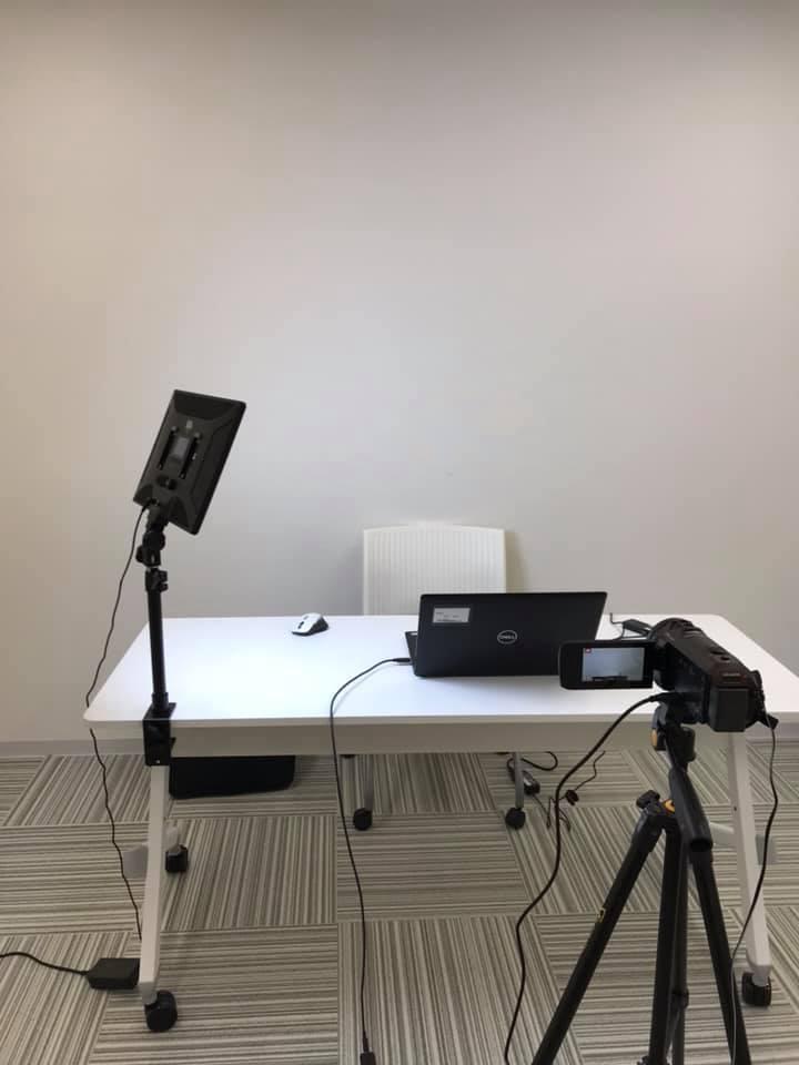 リモートセミナー明るいビデオライト